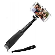 FIXED BT selfie stick FIXED, hliníkové provedení , černý