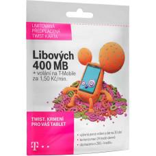 T-MOBILE CZECH REPUBLIC A.S. T-Mobile SIM Twist s Námi 400MB