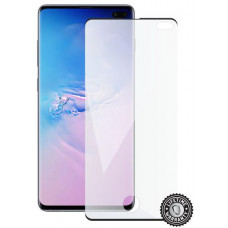 SCREENSHIELD SAMSUNG G975 Galaxy S10+ Tempered Glass protection (black - CASE FRIENDLY)
