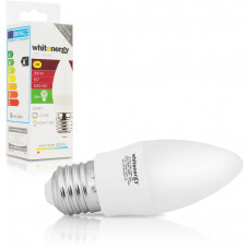 WHITENERGY WE LED žárovka SMD2835 C37 E27 3W teplá bílá