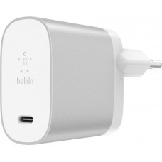 BELKIN 27W USB-C Power Delivery Charger, Silver
