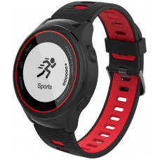 IGET ACTIVE A4 Black - chytré hodinky, IP68, GPS, LCD, BT 4.0, export Strava, LCD, 500mAh