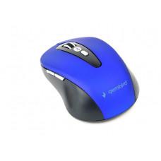 GEMBIRD bezdrátová BT myš, 6 tlačítek, modrá