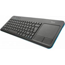 TRUST klávesnice TRUST Veza Touchpad Wireless CZ & SK