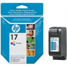 HP no. 17 - 3barevná ink. kazeta, C6625A
