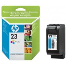 HP no. 23 - 3barevná ink. kazeta velká, C1823D
