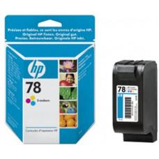 HP no. 78 - 3barevná ink. kazeta malá, C6578D