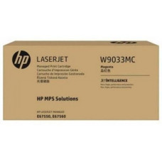 HP Magenta Managed LJ Toner Cartridge, W9033MC