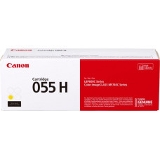 CANON CRG 055 H Yellow, 5 900 str.
