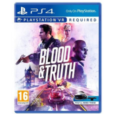 SONY PLAYSTATION PS4 VR - Blood and Truth - 29.5.2019