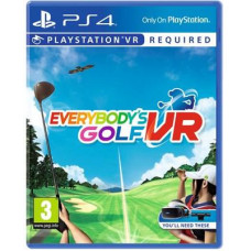 SONY PLAYSTATION PS4 VR - Everybody's Golf - 22.5.2019
