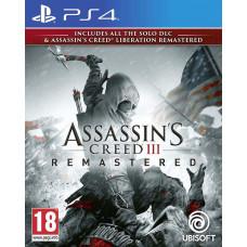 UBISOFT PS4 - Assassins Creed 3 + Liberation Remastered HD