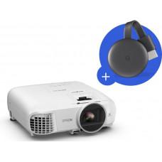 EPSON 3LCD Epson EH-TW5600,FullHD, 2500 Ansi 35000:1  + Chromecast 3