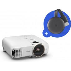 EPSON 3LCD Epson EH-TW5650,FullHD, 2500 Ansi 60000:1  + Chromecast 3