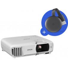 EPSON 3LCD Epson EH-TW650 Full HD 3100 Ansi 15000:1  + Chromecast 3