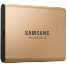 SAMSUNG SSD 1TB Samsung externí, Zlatý