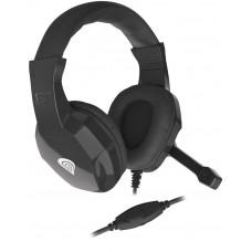 GENESIS Herní stereo sluchátka Genesis Argon 100, černé, 1x jack 4-pin