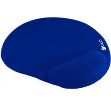 C-TECH Podložka pod myš gelová C-TECH MPG-03, modrá, 240x220mm