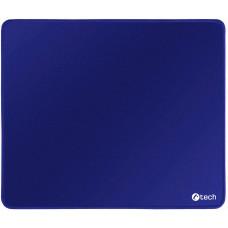 C-TECH Podložka pod myš C-TECH MP-01, modrá, 320x270x4mm, obšité okraje