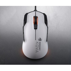 ROCCAT KOVA AIMO Pure Performance Gaming Mouse, white