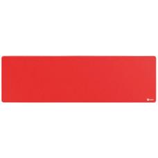C-TECH Podložka pod myš C-TECH MP-01XL, červená, 900x270x4mm, obšité okraje