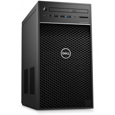 DELL Precision T3630 i7-8700/32GB/512GB SSD/P1000-4GB/DVD-RW/USB-C/DP/W10P/3RNBD/Černý