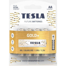 TESLA - baterie AA GOLD+, 4 ks, LR06