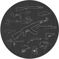 GENESIS Ochranná rohož pod křeslo Genesis Tellur 300 Arsenal Of Gamer, 100 cm