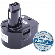 AVACOM Baterie AVACOM BLACK & DECKER A9252  Ni-Mh 12V 3000mAh, články PANASONIC