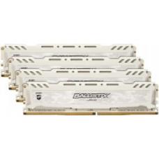 CRUCIAL 16GB DDR4 2400MHz Crucial Ballistix Sport LT CL16 4x4GB White