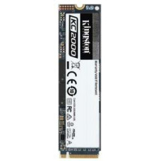 KINGSTON 500GB SSD KC2000 Kingston M.2 2280 NVMe