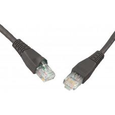 SOLARIX patch kabel CAT6 UTP PVC 1m černý