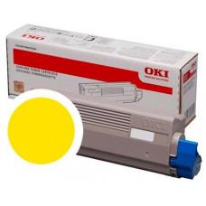 OKI - žlutá - originální - kazeta s barvivem - pro C834dnw, 834nw