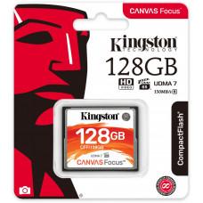 KINGSTON 128GB CompactFlash Canvas Focus