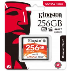 KINGSTON 256GB CompactFlash Canvas Focus