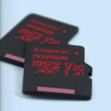 KINGSTON 512GB microSDXC Kingston U3 100R/80W bez adapt.