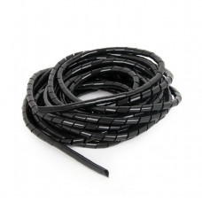 GEMBIRD Organizátor kabelů, 10 m, black