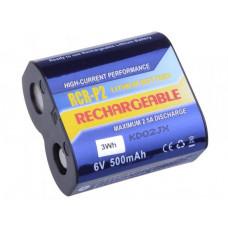 AVACOM nabíjecí fotobaterie CR-P2, DL223A Li-Fe 6V 500mAh 3Wh