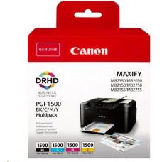 Canon BJ  CARTRIDGE PGI-1500 BK/C/M/Y MULTI