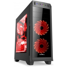 1stCool skříň GAMER 2, Full Tower, AU, USB 3.0, bez zdroje, Black