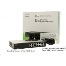 Cisco switch SF110-16-RF, 16x10/100, REFRESH