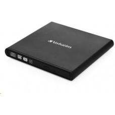 Verbatim Mobile DVD-RW Rewriter USB 2.0 Black mechanika