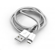 Verbatim kabel Micro B USB Cable Sync & Charge 30cm (Silver)