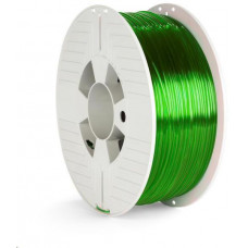 Verbatim 3D Printer Filament PET-G 1.75mm 1000g green transparent
