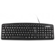 Crono multimediální klávesnice CK2818 CZ+SK, USB+PS/2, Black