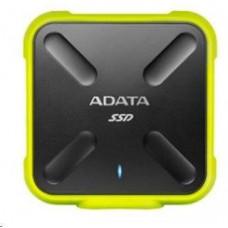 A-Data ADATA External SSD 1TB ASD700 USB 3.0 černá/žlutá