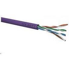 Solarix Instalační kabel Solarix UTP, Cat5E, drát, LSOH, box 100m SXKD-5E-UTP-LSOH