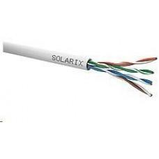 Solarix Instalační kabel Solarix UTP, Cat5E, drát, PVC, box 100m SXKD-5E-UTP-PVC