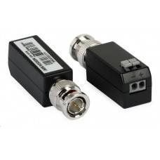 Hikvision DS-1H18 pár převodníků (balun) TurboHD (HD-TVI, Analog) na UTP, 2 kusy