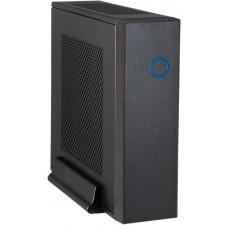 Chieftec skříň Compact Series/mini ITX, IX-03B, Black, Alu, 85W zdroj CDP-085ITX